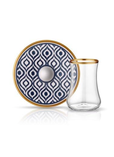 Dervish Ikat Çay Seti 6lı-Koleksiyon